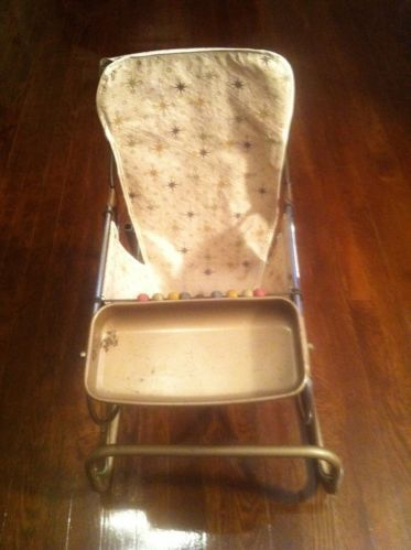Details About Vintage Hamilton Cosco Stylaire Baby Bouncy Seat Chair With Beads Bell