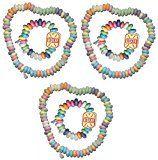 Süßigkeiten Set Halskette und süße Uhr Retro Candy Mitgebsel Kindergeburtstag