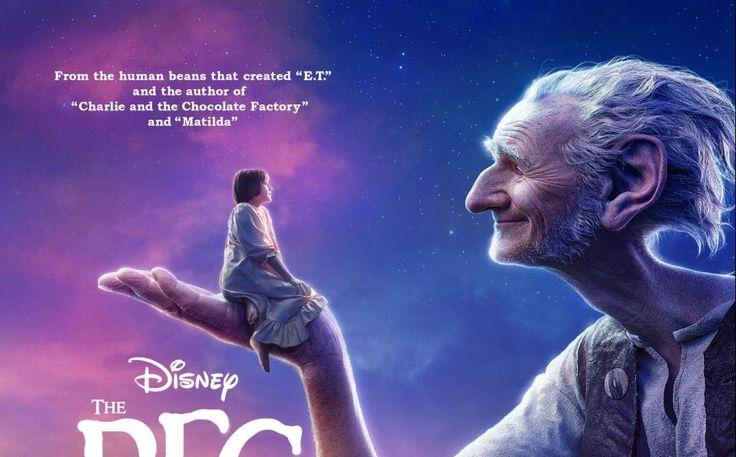 The BFG, #TheBFG, Disney movie release