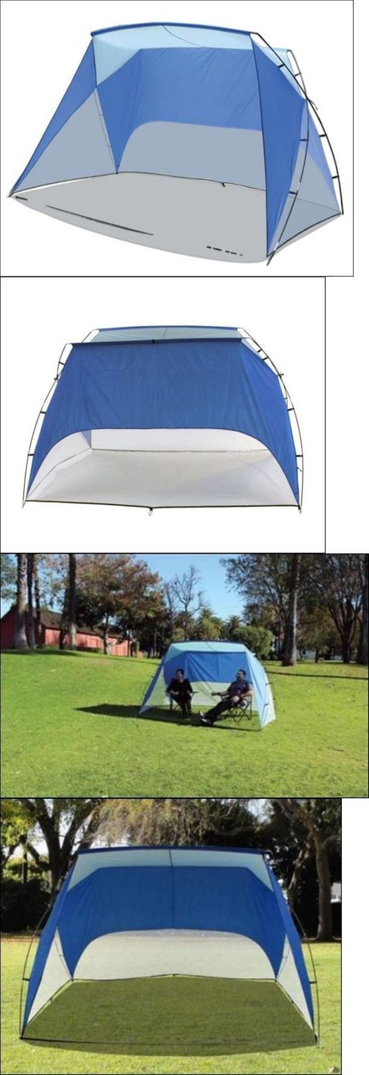 Canopies and Shelters 179011: Sun Shade Tent Beach Cabana Sports Umbrella Personal Sideline Portable Shelter -> BUY IT NOW ONLY: $38.39 on eBay!