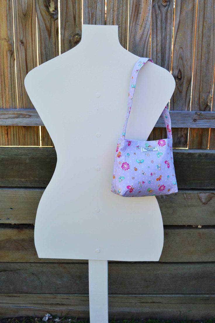 'Isabella' Purple girls bag