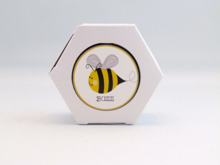 Bumble Bee Favour Box 600 Via Etsy