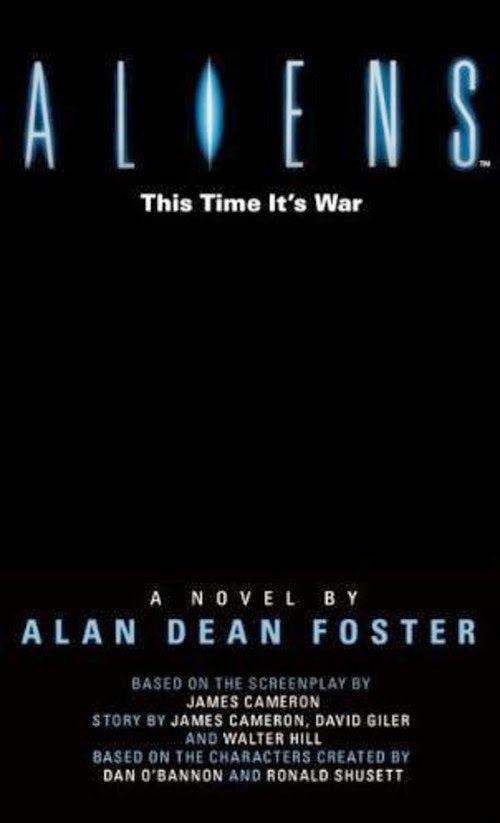 Three copies of Alan Dean Foster's Aliens novelisation to be won!
