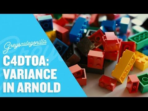 Greyscalegorilla Blog | Variance Techniques in Arnold for Cinema 4D