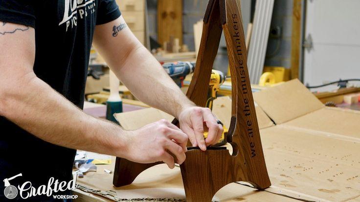 установка войлочные прокладки поделок гитара подставка