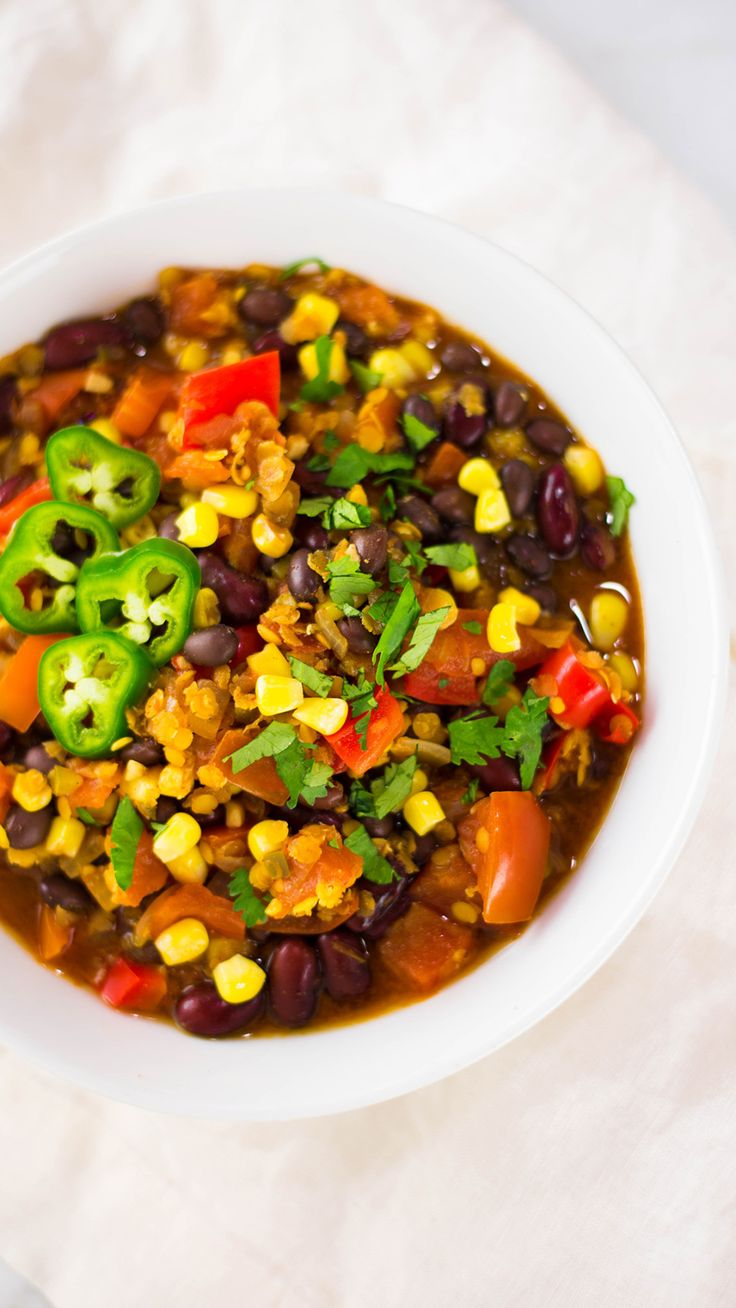 When it comes to chili, tasty and healthy aren't mutually exclusive.