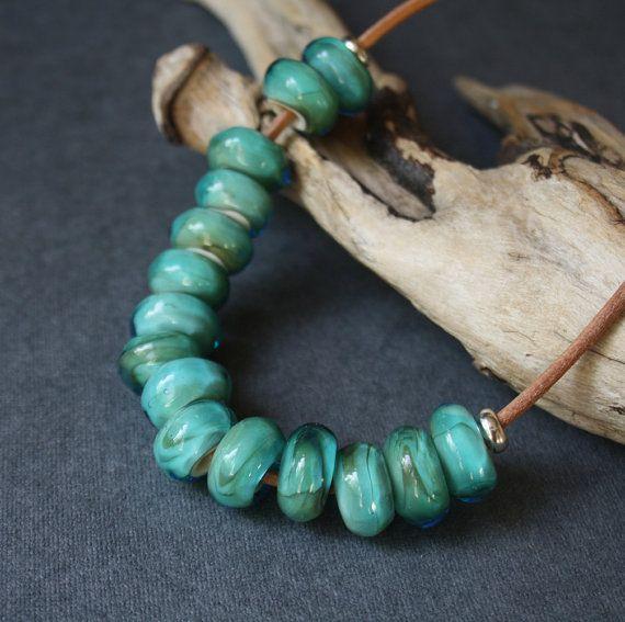 Necklace. Glass от LikeAGlassShop на Etsy