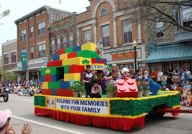 Lego Float | Colorful Lego Float in the Children's Parade. | Terry Zweering | Flickr