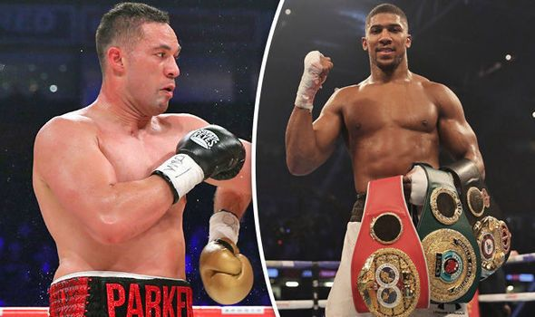 Anthony Joshua Undertakes Rigorous Training For Fight With Parker
