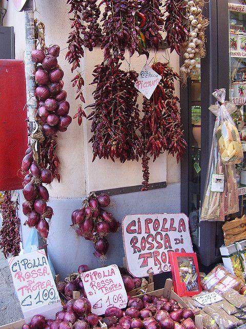 Cipolla Rossa di Tropea, Calabria Italy