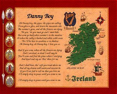 """""""Danny Boy"""" - A Traditional Irish Song more famous in the United States than in the Emerald Isle"""