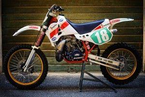 KTM 1987. Mine was an EXC Enduro bike