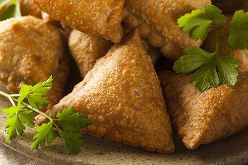 Receta de Samosas Empanadillas de Patata de la India