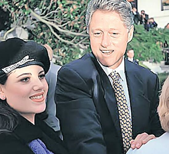 ЛЮБОВНИКИ. Билл Клинтон и Моника Левински