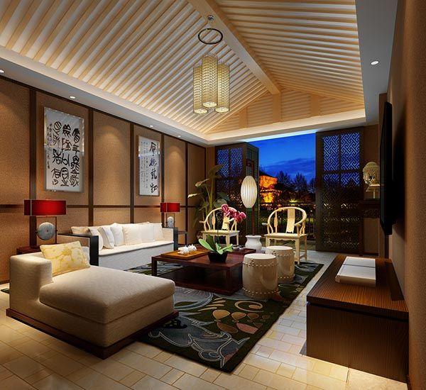 Modern asian interior design interiors