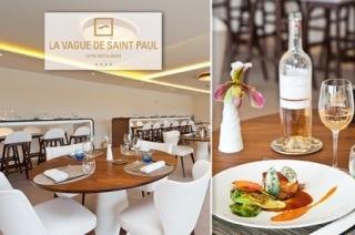 La Vague de Saint Paul : Restaurant