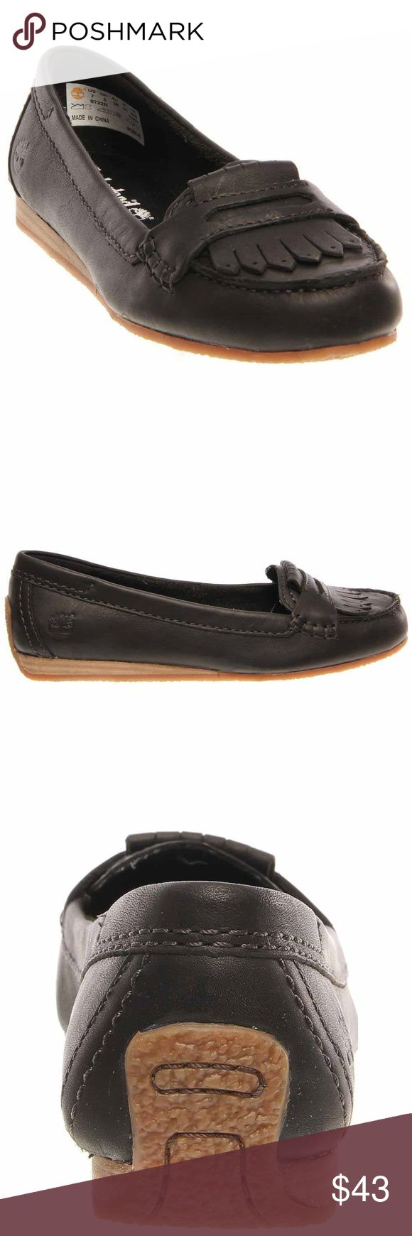 Timberland Earthkeepers Caska Kiltie Moccasins Slip into casual comfort when you wear Timberland Earthkeepers Caska Kiltie Moccasins. These genuine leather slip-on shoes are hand-crafted with tonal stitching and cut-out tassel detailing over the toe. Timberland Shoes Flats & Loafers