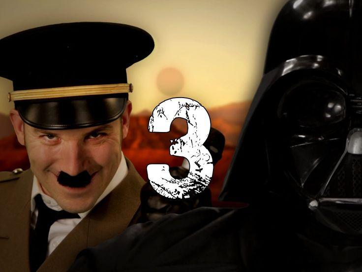 Hitler vs Vader 3. Epic Rap Battles of History Season 3.