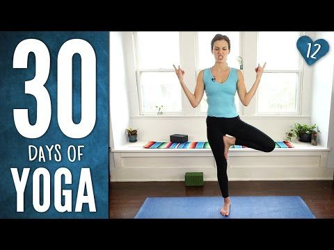 Day 12 - Yoga For Spinal Health - 30 Days of Yoga - YouTube