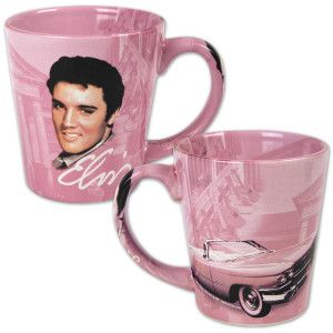 Elvis Graceland Guitars Mug