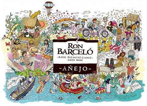 Ron Barcelo Illustration by Bandid8. 5.