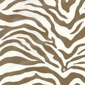 "Found it at AllModern - Risky Business Magnetism 33' x 20.5"" Zebra Print Foiled Wallpaper"