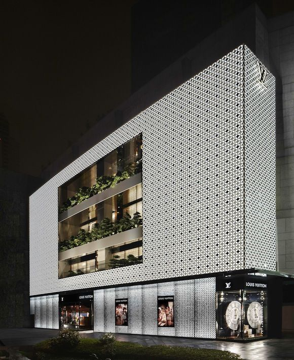 Louis Vuitton Maison in Shanghai's Plaza 66