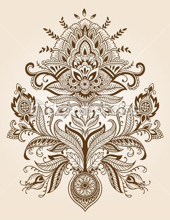 soyut geometrik seamless modeli pembe ve kahverengi, vektör — Ilustración de stock #31073007