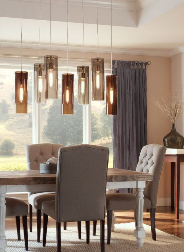 Beacon Pendant with Vintage Edison bulbs by