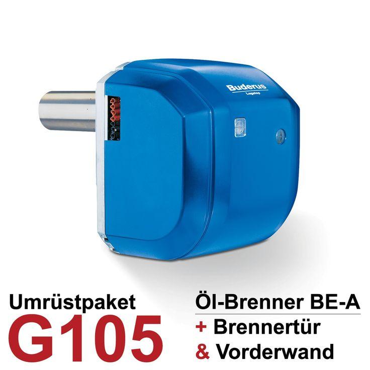 Buderus Logatop Öl-Brenner-Umrüstpaket G105 BE-A