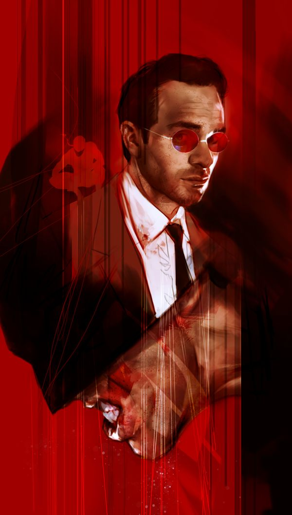 "bear1na: Daredevil by Ben Oliver * --> ""Watch out for those Murdock boys, they got the devil in them"""