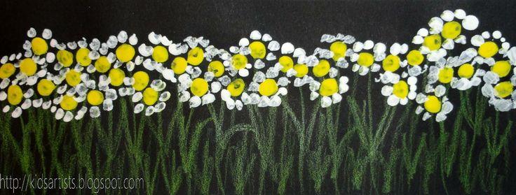 Wild flowers - Kids Artists: flowers