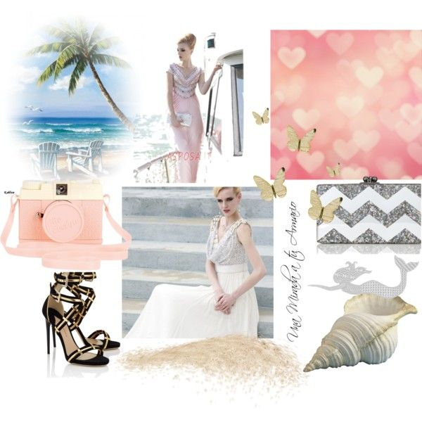 Abito da sera by asposa on Polyvore featuring Paul Andrew, Edie Parker, Nantucket Bound and Urban Outfitters