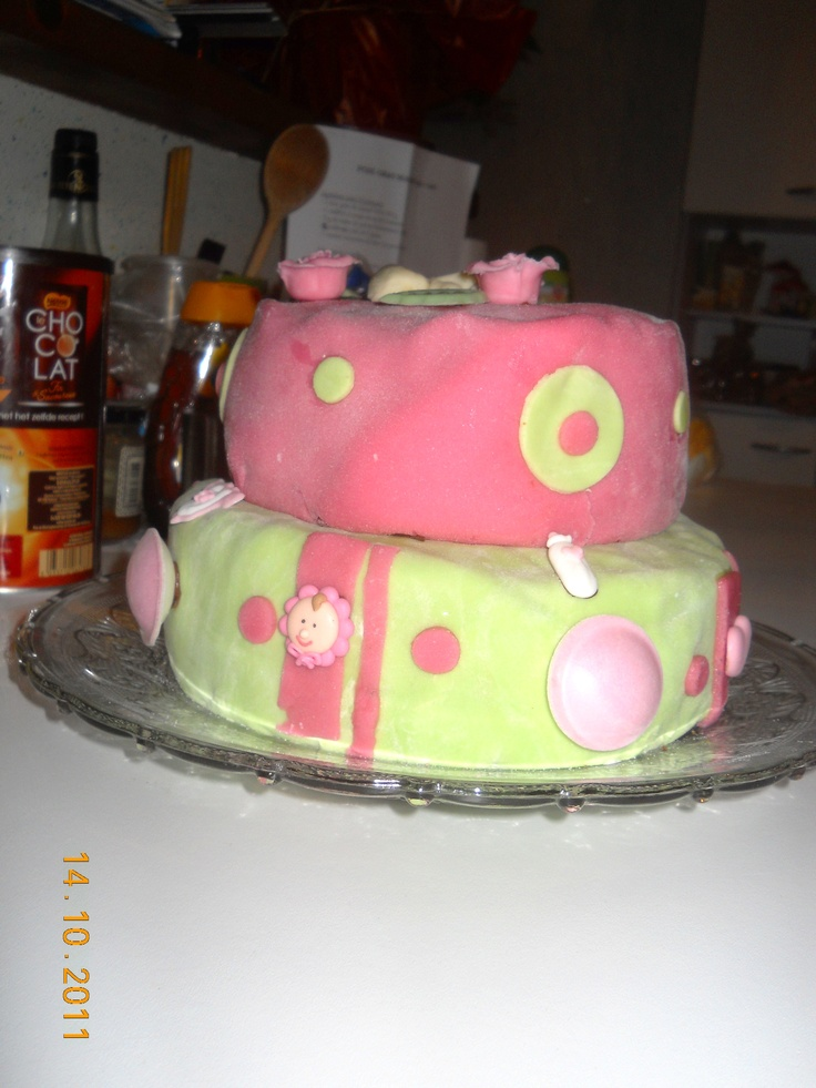 Lily May's birth cake