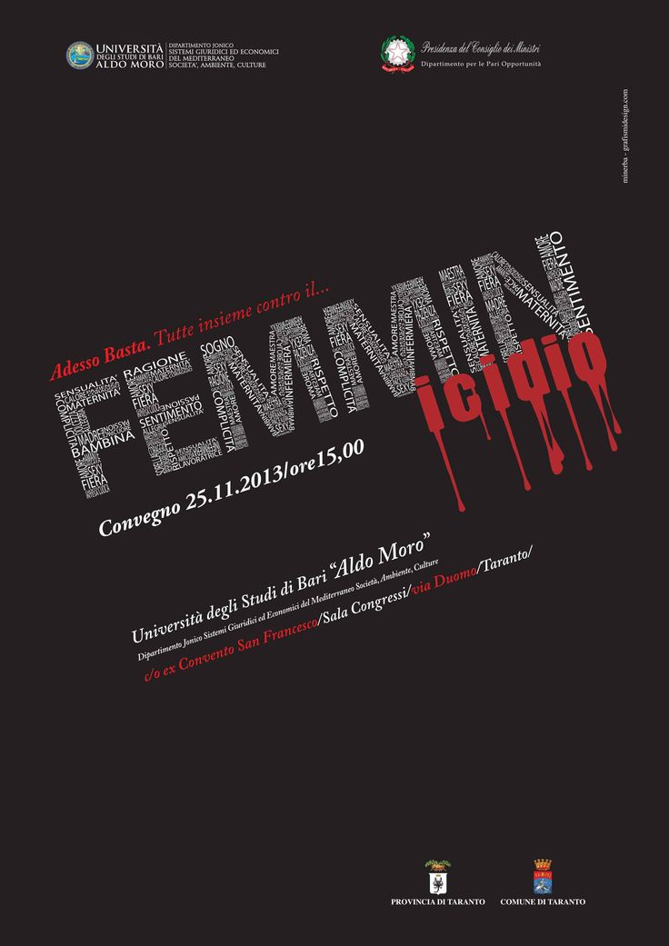 """Convegno """"Femminicidio"""""""