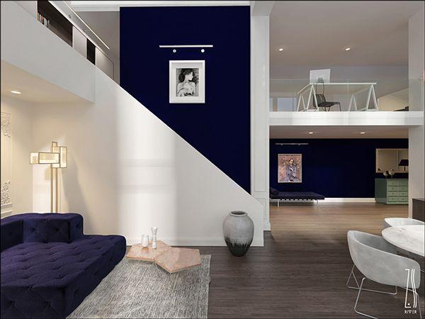 """Apartment Interior Design """"DUO"""" / Ukraine"""