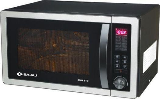 Bajaj 2504ETC 25 L Convection Microwave Oven(Silver Grey)