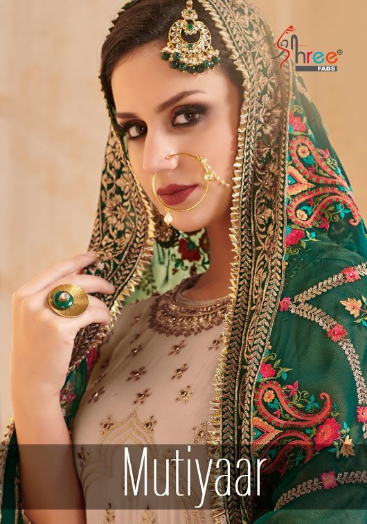 29b6af449e SHREE FAB MUTIYAAR DESIGNER PARTY WEAR PAKISTANI SUIT CATALOG MANUFACTURER  WHOLESALER AND EXPORTER OF INDIAN ETHNIC WEAR IN SURAT . | Sagar Impex