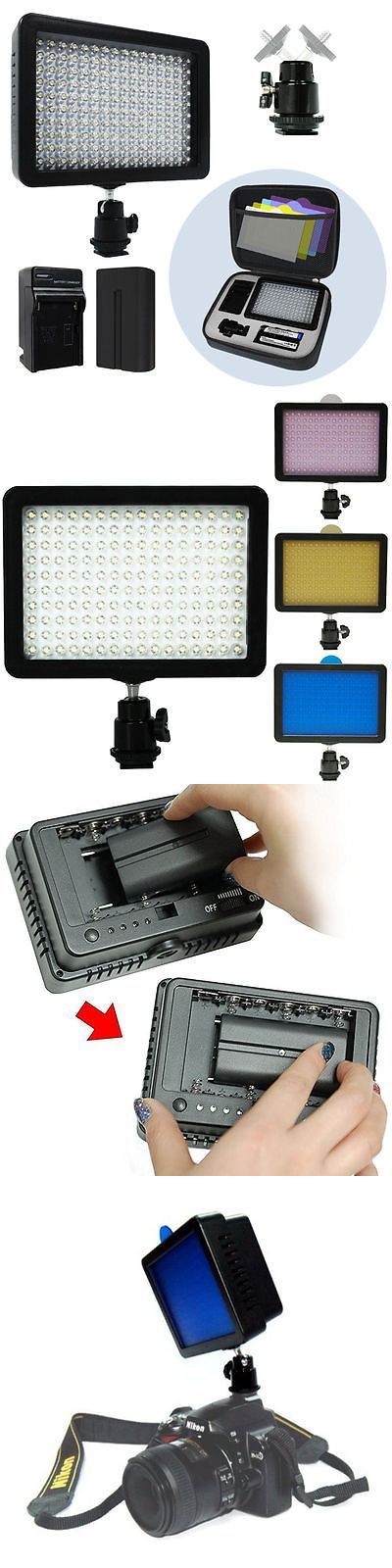 photo and video: Bright 160 Led Studio Photo Video Light For Canon Nikon Dslr Camera Dv Camcorder -> BUY IT NOW ONLY: $31.99 on eBay!