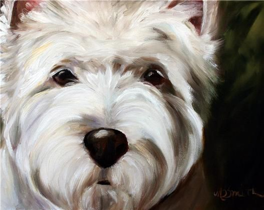 MARY Sparrow west highland terrier dogs westie dog face art PRINT - $29.00. Track Page Views With Auctiva's FREE Counter View My About Me page Every buyer gets a MyStoreRewards invitation for cash back 160736228575