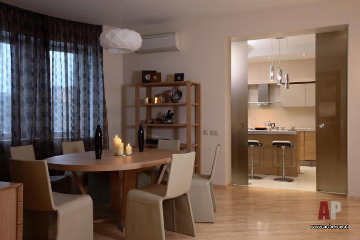 Дизайн интерьера двухуровневой квартиры в современном стиле   Interior design maisonette in a modern style