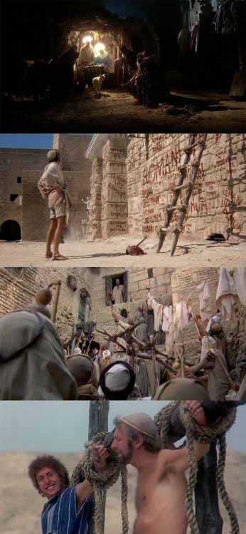 Life of Brian, 1979 (dir. Terry Jones) By Art Huck