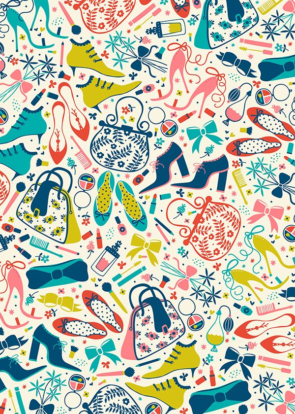 Heels and Handbags by Anna Deegan, via Behance