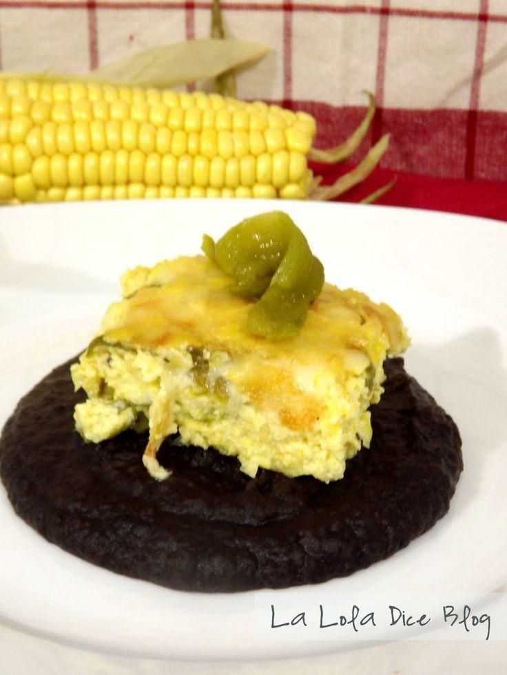 Pastel de Elote… salado Ya con posadas en puerta y reuniones familiares, les comparto la primera opción para preparar un rico pastel ...