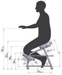 """Résultat de recherche d'images pour """"kneeling chair design plan"""""""