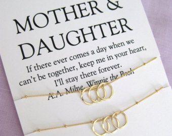 Mutter Tochter Schmuck Sets Mütter Tag Geschenk Mutter Tochter