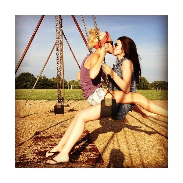 in love with a girl ❤ liked on Polyvore featuring couple, faceless couple, lgbt…
