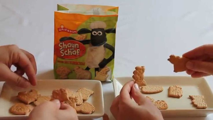 Candy Quest #14 Shaun The Sheep Mini Butter Biscuits - Crispy Fun from G...