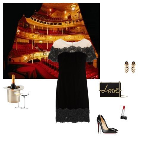 what to wear to a date in theatre; what to wear to opera; date outfit, outfit for a date, valentine's day outfit, what to wear to valentine's day, what to wear to ballet