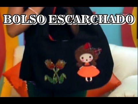 TECNICA DE ESCARCHADO SOBRE TELA - YouTube